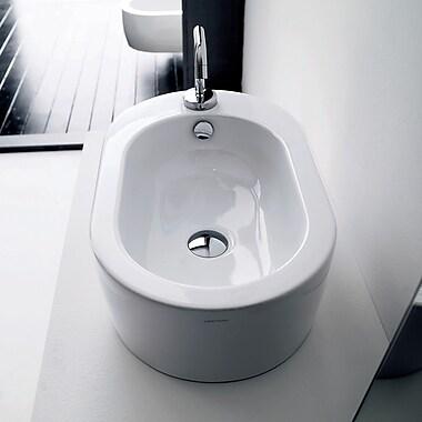 WS Bath Collections Kerasan Flo Vessel Bathroom Sink