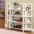 InRoom Designs 42'' Bookcase; White/White