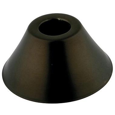 Elements of Design Decorative Escutcheon Bell Flange; Oil Rubbed Bronze