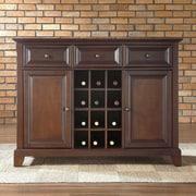 Crosley Newport Sideboard / Buffet; Vintage Mahogany