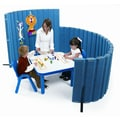 Angeles SoundSponge Quiet Dividers Wall with 2 Support Feet; Blueberry