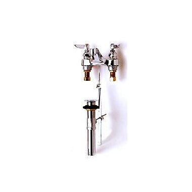 T&S Brass Centerset Bathroom Faucet w/ Double Handles