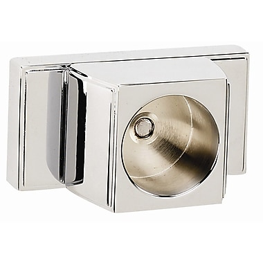 Alno Arch Shower Rod Brackets Only; Polished Chrome