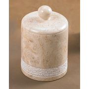 Creative Home Champagne Marble Spa Hand Carved Ball Holder