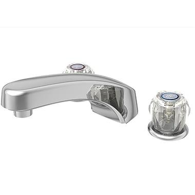 Aqueous Faucet Basic Double Handle Deck Mounted Roman Tub Faucet Trim Lever Handle