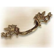 Bosetti-Marella French Antique 2 1/2'' Center Arch Pull; French Antique Gold