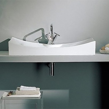 Scarabeo by Nameeks Tsunami Above Counter Single Hole Bathroom Sink