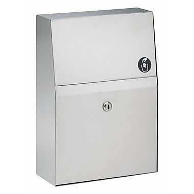 Bradley Corporation Single Use Napkin Disposal
