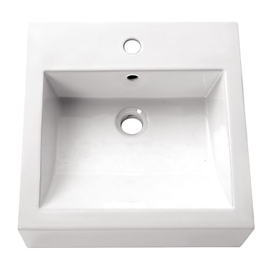 Avanity Above Counter Bathroom Sink