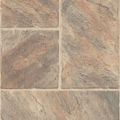 Armstrong Castilian Block 8mm Tile Laminate in Rambla