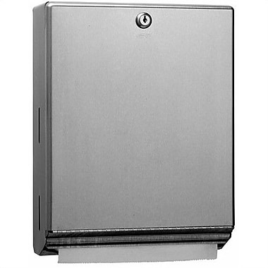 Bobrick Classic  Series Tumbler Lock Paper Towel Dispenser