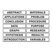 Pacon Creative Products Presentation Board Subtitle (14 Per card)