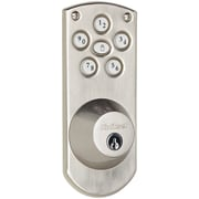 Kwikset Powerbolt Keyless Home Access System; Satin NIckel