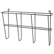 Buddy Products Wire Ware 1 Pocket Letter Size Literature Rack