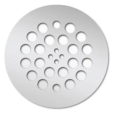 Tile Redi 4.25'' Grid Shower Drain; Polished Chrome