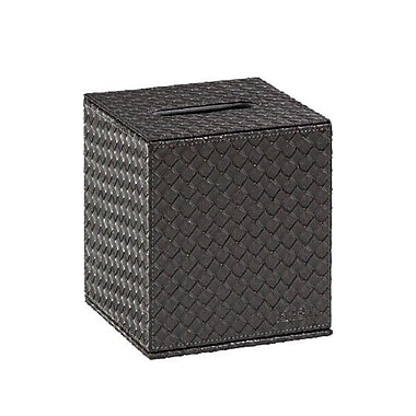 Gedy by Nameeks Marrakech Tissue Box Cover; Old Silver
