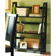 Woodbridge Home Designs 481 Series 42'' Bookcase; Black