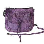 Latico Leathers Sol Abby Shoulder Bag; Purple
