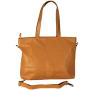 Latico Leathers Mimi in Memphis Flynn Tote Bag; Gold
