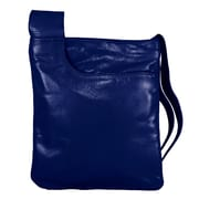 Latico Leathers Athena Medium Mimi Convertible Crossbody Bag; Navy