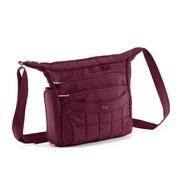 Lug Flutter Mini Cross-Body Bag; Cranberry Red