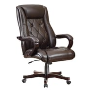 Office Star Chapman Eco Leather Executive Office Chair