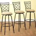 TMS Avery Adjustable Bar Stools (Set of 3)