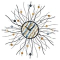Control Brand Oversized 28.35'' Precious Jewels Sunburst Wall Clock