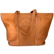Latico Leathers Heritage Oversize Tote; Natural
