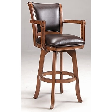 Hillsdale Park View 30'' Swivel Bar Stool with Cushion