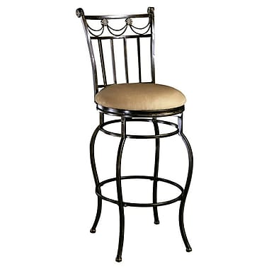 Hillsdale Camelot II 26'' Swivel Bar Stool with Cushion