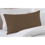 Patch Magic Dark Brown Plaid Pillow Sham