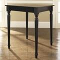 Crosley Turned Leg Counter Height Pub Table; Black