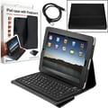 Trademark Global Laptop Buddy iPad Bluetooth Keyboard and Protective Case