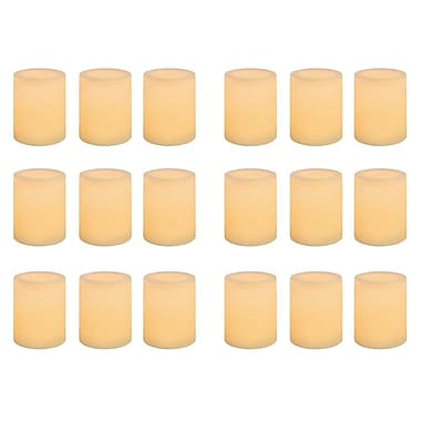 Inglow Wax LED Votive Candle 18-Pack