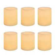 Inglow Wax LED Votive Candle 6 Pack