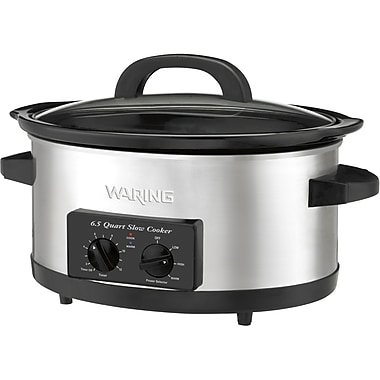 Conair® Waring Pro® 6.5 qt Stainless Steel Slow Cooker