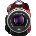 JVC GZ-EX310RUSM 40x Optical Zoom Full HD Digital Camcorder, 2.2in. x 2in. x 4.6in., Red