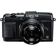 Olympus® PEN E-P5 16.1MP Mirrorless Digital Camera Body With Lens Kit, Black