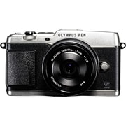 Olympus® PEN E-P5 16.1MP Mirrorless Digital Camera Body With Lens Kit, Silver