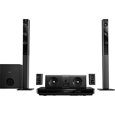 Philips® HTB5544D 5.1 3 Digital Home Theater With Tall Boy Speaker