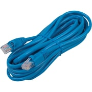 RCA 14' Cat5e RJ-45 Male/Male Network Cable, Blue