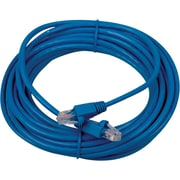 RCA 25' Cat5e RJ-45 Male/Male Network Cable, Blue