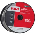 RCA 100' Cat6 RJ-45 Male/Male Network Cable