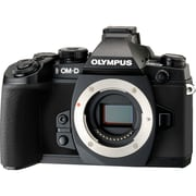 Olympus® OM-D E-M1 16.3MP Mirrorless Camera Body With Interchangeable Lens, Black