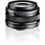 Olympus® V311050BU000 M.Zuiko 17 mm Digital Fixed Focal Length Lens For Micro Four Thirds, Black