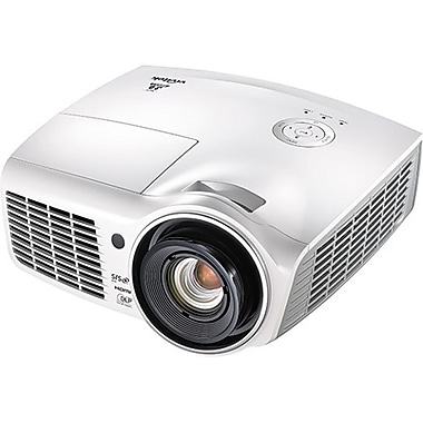 Vivitek H1180HD WUXGA 1920 x 1080 Pixels Business Home Theater DLP Projector, White