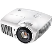 Vivitek H1180HD WUXGA 1920 x 1080 Pixels Business Home Theater DLP Projector, White