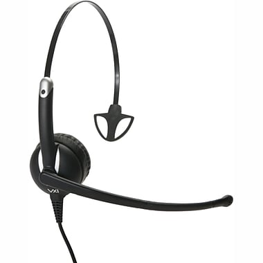 VXi Envoy UC 3010U 203353 Wired Computer Headset, Black