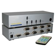 QVS® 8-Port VGA Video Share Switch With Remote Control